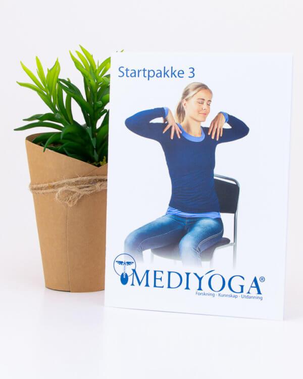 Startpakke nr 3 - Kom i gang med yoga fra din egen stue