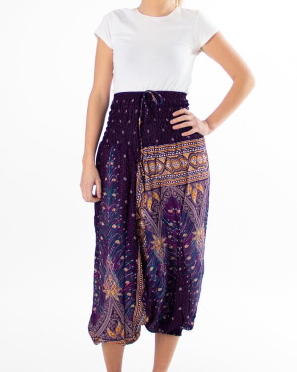 Lilla haremsbukse for yoga - bukse