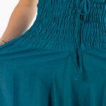 Grønn ensfarget haremsbukse