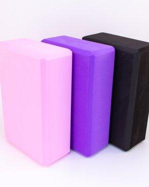 Våre yogablokker i forskjellige farger